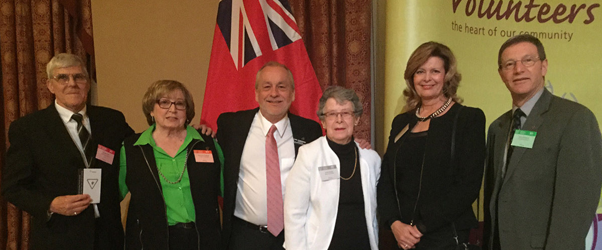 2016 Burlington Museums Ontario Volunteer Service Award Board member winners included Larry Waldron (Chair), Rob Stonehewer (Vice-Chair), Nancy Cassaday and Gerry Park.