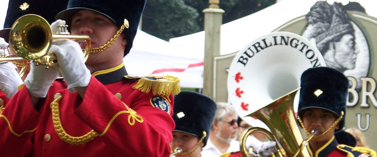 Burlington teen-tour band perform at Canada Day celebrations at Joseph Brant Museum