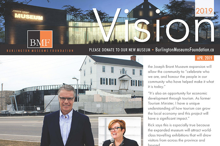 Burlington Museums Foundation Newsletter April 2019