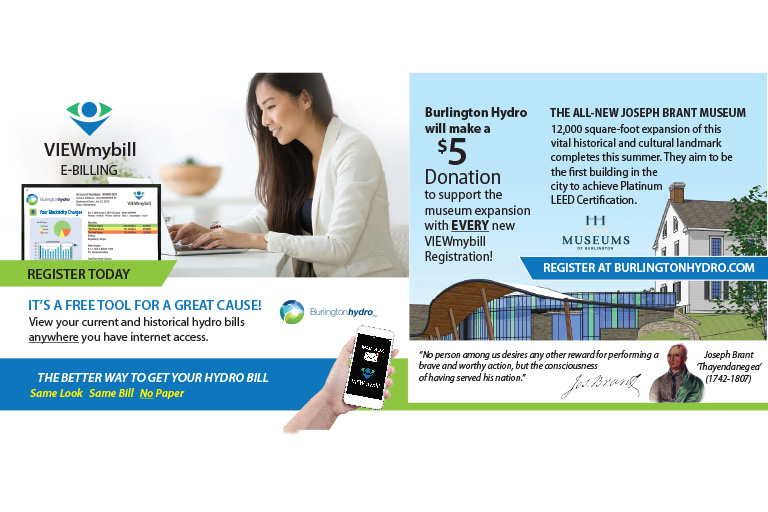 Burlington Hydro e-Billing Campaign