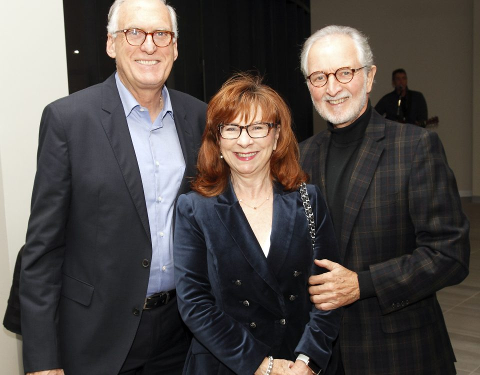 Don and Wendy Smith with John Doyle, Chair of the Burlington Museums Foundation the Joseph Brant Museum Donor recognition event.