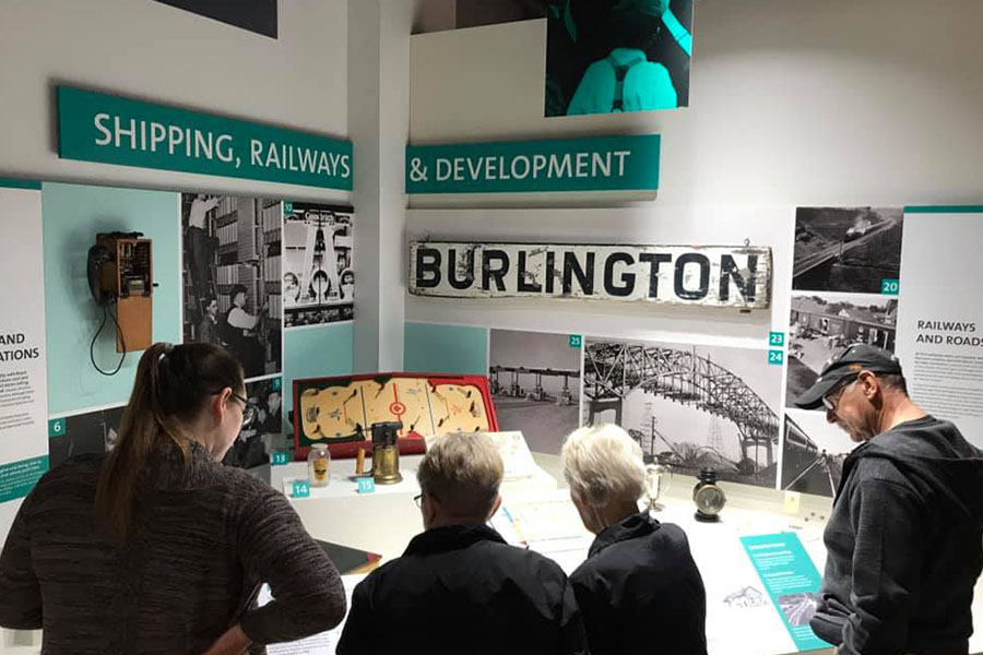 Joseph Brant Museum Burlington exhibit