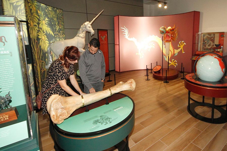 Joseph Brant Museum mythic creatures exhibit