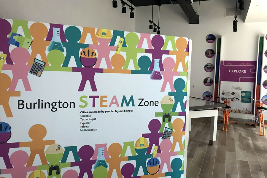Joseph Brant Museum Steam Zone