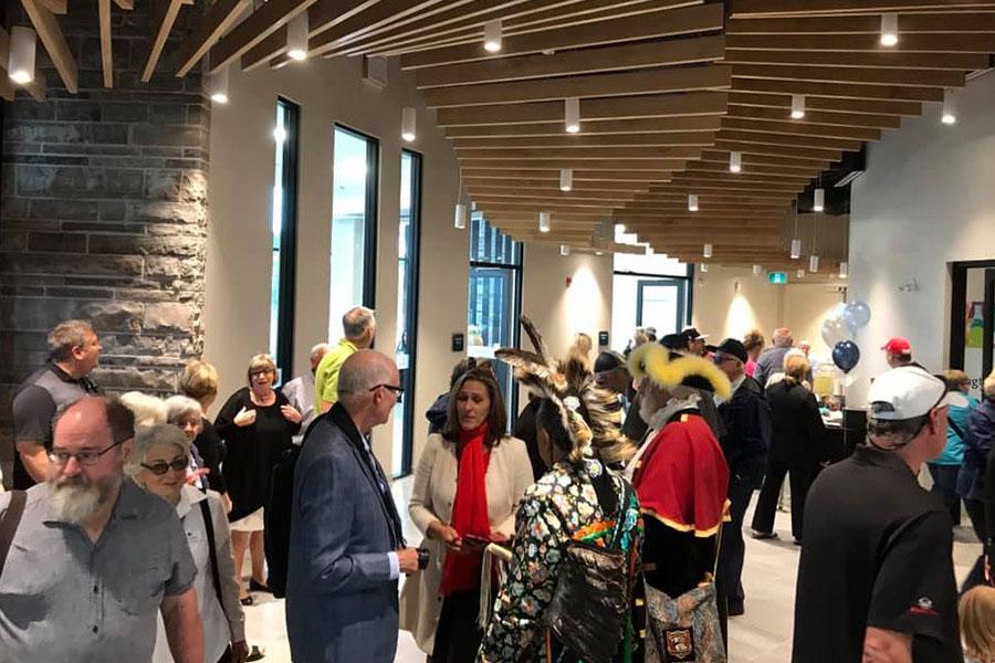 Joseph Brant Museum official opening